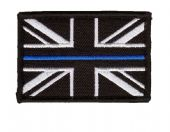 Union Jack Patch - Thin Blue Line  Police